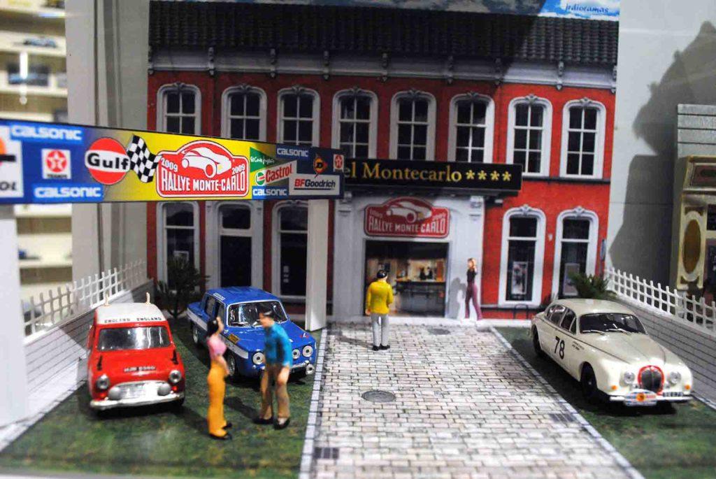Hotel del auto clásico